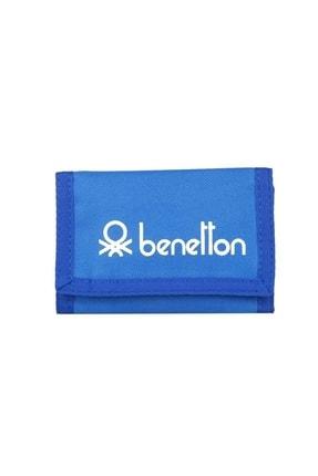 Benetton Unisex Spor Cüzdan 30497 Mavi