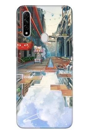 OPPO A31 Pure Modern Desenli Silikon Kılıf 3d Anime