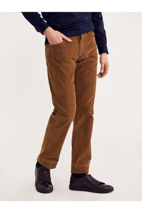 Bisse Regular Fit 5 Cep Kadife Pantolon