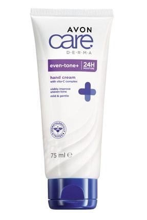 AVON Care Derma Even Tone Cilt Tonu Beyazlatıcı El Kremi 75 ml