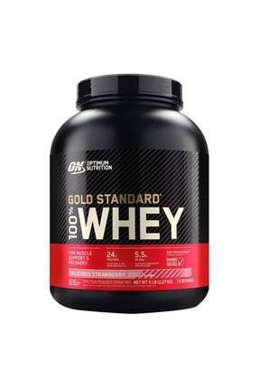 Optimum Nutrition Standard Whey Protein Tozu 2273 gr -çilek Aromalı