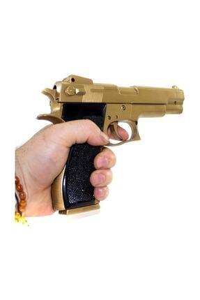ADDA Boncuk Atan Silah Gold Colt Twın Eagle 22 cm - 300 Adet Mermi