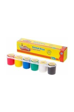 Play Doh Parmak Boyası 6 Renk X 25 Ml Paletli Kap