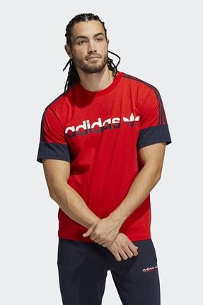 adidas Erkek Günlük T-shirt 3 Stripe Split H31274