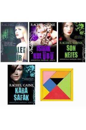 Artemis Yayınları Rachel Caıne Hayalet Şehir – Isısrık Kulubü – Son Nefes – Kara Şafak 4 Kitap Set Tangram Hediyeli