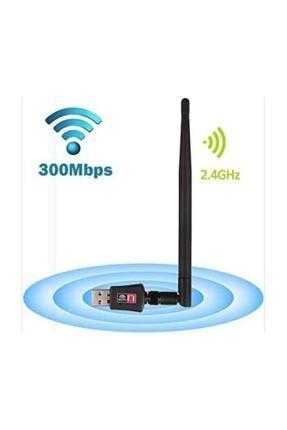 HADRON 300 Mbps Antenli Wireless Adaptör Kablosuz Ağ Pc Wifi Alıcı Usb