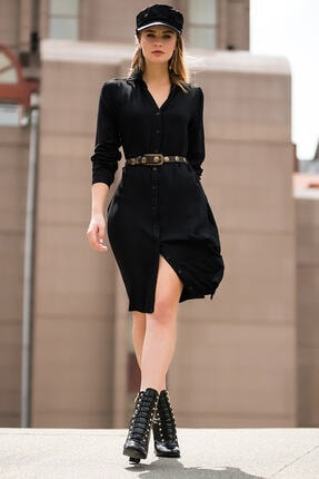 Pitti Kadın Siyah Elbise 50992