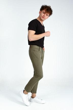 Collezione Haki 5 Cep Erkek Pantolon