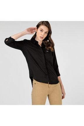Lacoste Kadın Siyah Gömlek CF0812