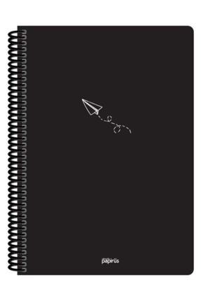Papirüs Yayınevi Papirüs Pp Kapak Spiralli A4 80 Yaprak Kareli Defter