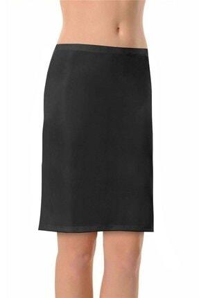 Lorelm Jüpon Etek Altı Astar Dizüstü Siyah Renk Jipon