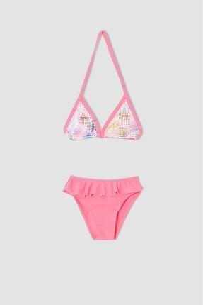 DeFacto Kız Çocuk Desenli Bikini Takımı