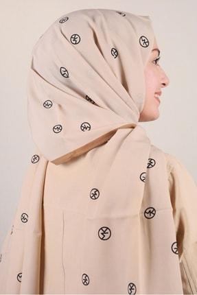 Modakaşmir Moda Kaşmir Karamel-siyah Serisi Medine Ipeği Şal - Desen-03 - Renk-10