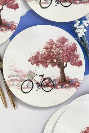 Keramika Bicycle Servis Tabağı 26 cm 6 Adet