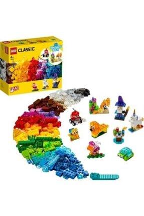 LEGO Classic Yaratıcı Şeffaf Yapım Parçaları 11013 (500 Parça)