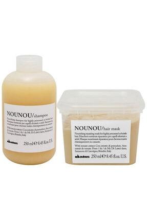 Davines Nounou Şampuan 250 Ml + Nounou Saç Maskesi 250 Ml Avantajlı Paket
