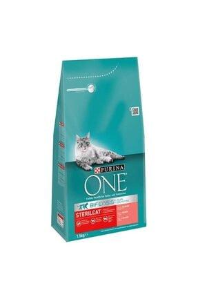 Purina One Sterilised Somonlu Kısırlaştırılmış Kedi Maması 1.5 Kg