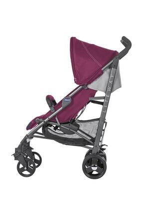 Chicco Lite Way 3 Top Baston Bebek Arabası - Kırmızı