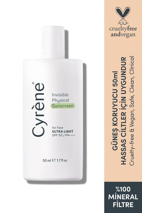 Cyrene Invisible Physical Sunscreen