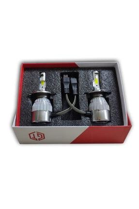 GT Yeni Seri H4 Led Xenon Led Far Ampülü Şimşek Etkili 10800 Lümen 6000k