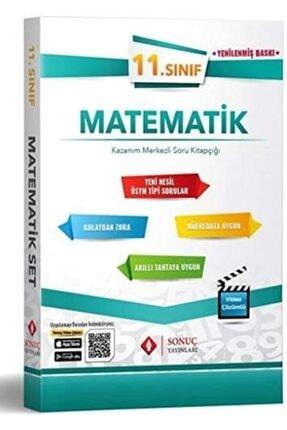 Sonuç Yayınları Sonuç 11. Sınıf Matematik Set Kazanım Merkezli Soru Kitapçığı Yeni