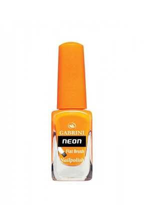 Gabrini Neon Oje - Flat Brush 03 Mandalina 6 ml 8696814062031