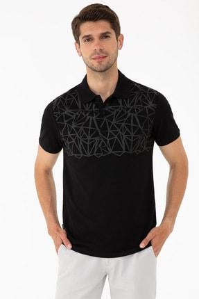 Pierre Cardin Sıyah Erkek T-Shirt G021GL011.000.1315240