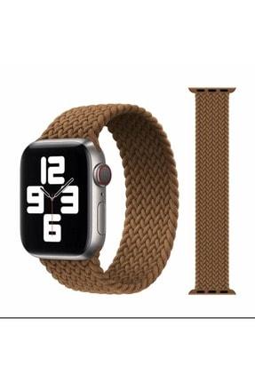 TT Option Apple Watch Uyumlu 42 / 44mm Örgülü Esnek Kordon