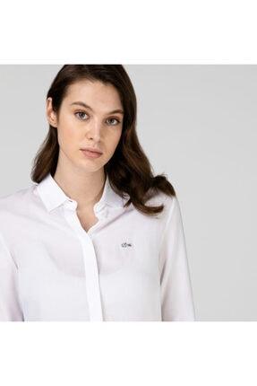 Lacoste Kadın Beyaz Gömlek CF0812
