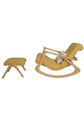 Asedia Ekolnaturel- Sarı Sallanan Sandalye