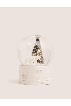 Marks & Spencer Müzikli Ve Işıklı Yılbaşı Temalı Kar Küresi