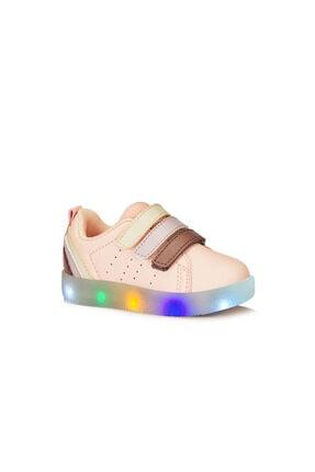 Vicco Sun Işıklı Kız Çocuk Pudra Sneaker
