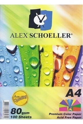 Alex Schoeller Renkli Kağıt 80 Gr 100lü