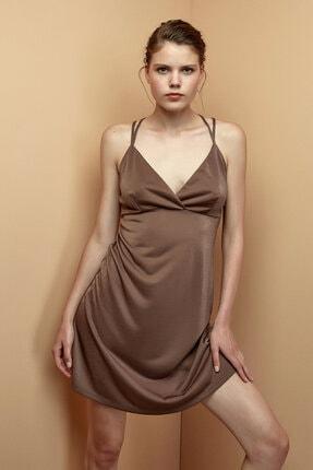 Penti Dark Nude Detaylı Elbise