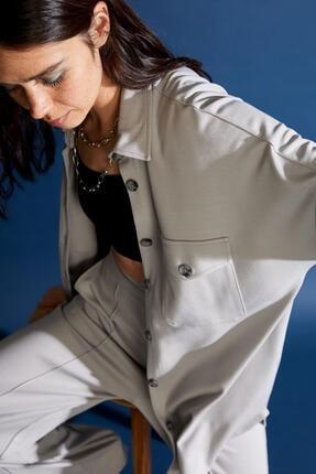 DeFacto Düğmeli Relax Fit Tunik Ceket