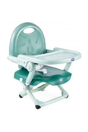Chicco Unisex Bebek Yeşil Booster Seat Pocket Snack Portatif Mama Sandalyesi Sage