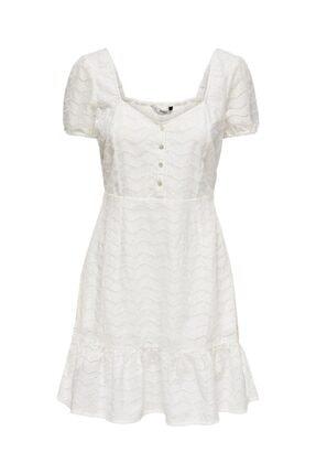 Only Kadın Beyaz Elbise