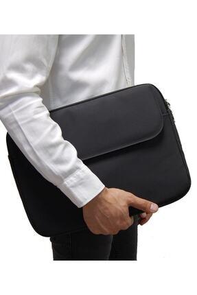 D'VERS Siyah Unisex 13 - 13.3 - 14 Inç Uyumlu Macbook Kılıf Notebook Laptop Çantası