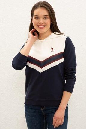 U.S. Polo Assn. Beyaz Sweatshirt