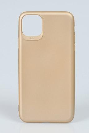 Cem Iphone 12 6.1 Inch Silikon Kılıf Gold