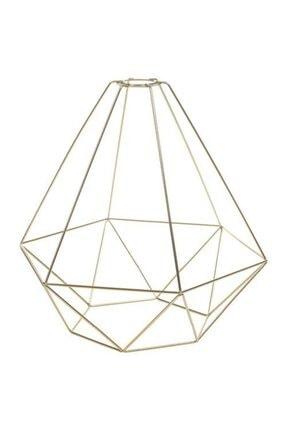 IKEA 35 Cm Sarkıt Lamba Abajur Başlığı, Gold Rengi Meridyendukkan Ev Dekorasyonu-çelik