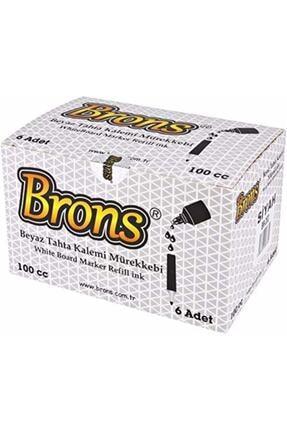 Brons Br-354 Beyaz Tahta Kalem Mürekkebi 100 Cc Mavi 6 Li (1 PAKET 6 ADET)