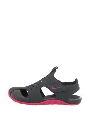 Nike Kids Antrasit - Pembe Erkek Sunray Protect 2 (Td) Sandalet