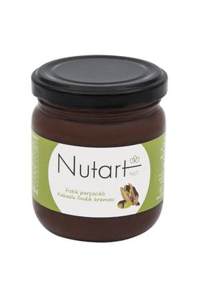 Nutart Antep Fıstığı Parçacıklı Kakaolu Fındık Kreması 200g