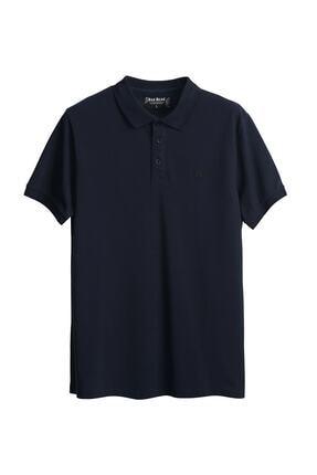 Bad Bear Erkek Mavi Stark Navy Polo Yaka T-shirt