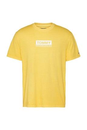 Tommy Hilfiger Tj Erkek White Box Logo T-shirt