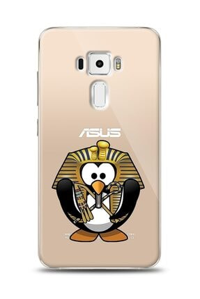 MobilCadde Asus Zenfone 3 Ze552kl Chivalry Penguin Resimli Kılıf