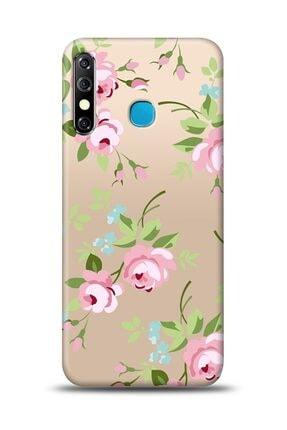MobilCadde Infinix Hot 8 Roses Resimli Kılıf