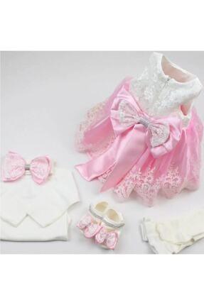 Malkoç Babylia Kız Bebek Mevlüt Elbisesi Gelinlik Fransız Dantelli Abiye 1009001