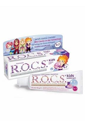 R.O.C.S. Rocs 4 7 Yaş Balon Sakızlı Diş Macunu